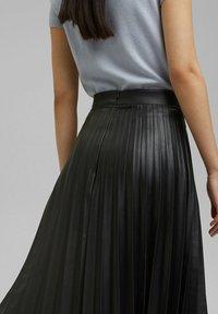 Esprit Collection - Jupe plissée - black - 3