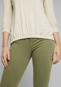 Esprit - FASHION - Long sleeved top - cream beige - 4