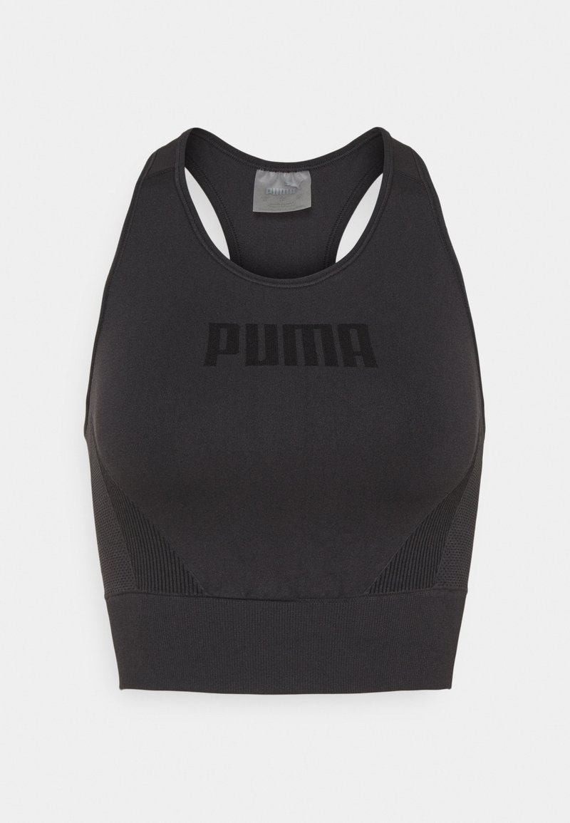 Puma - EVOSTRIPE BRA - Sujetadores deportivos con sujeción ligera - puma black