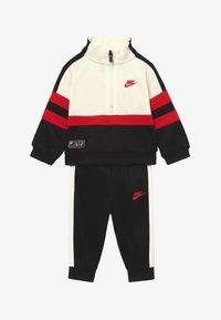 Nike Sportswear - AIR SET - Tracksuit - black/university red - 3