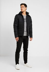 Superdry - FUJI - Winterjas - washed black - 1