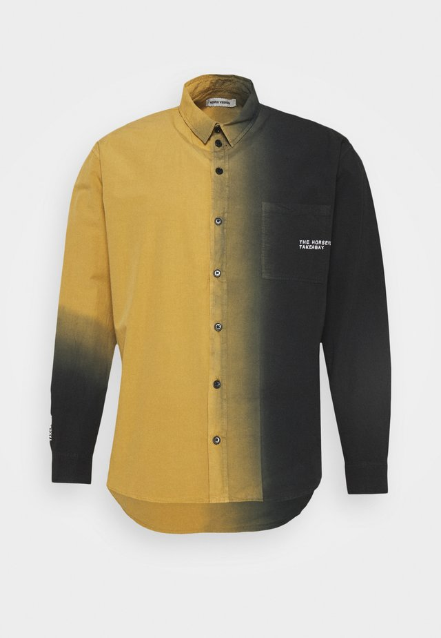 DIP DYE - Overhemd - bronze/black