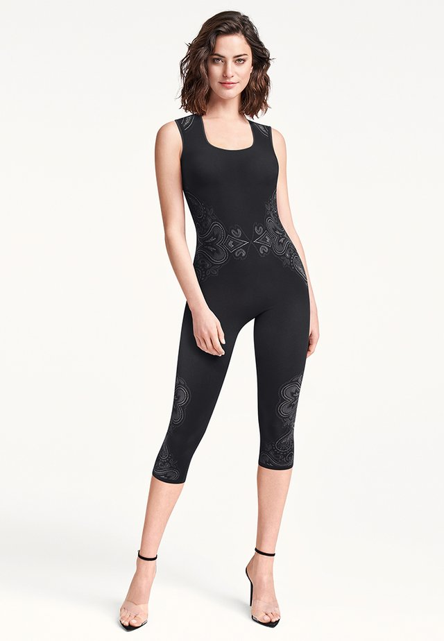 Tuta jumpsuit - black/ash