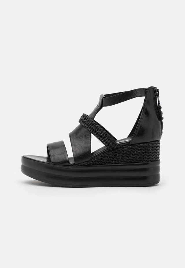 BELLA - Platform sandals - nero