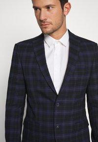 Ben Sherman Tailoring - CHECK SUIT - Completo - dark blue - 6