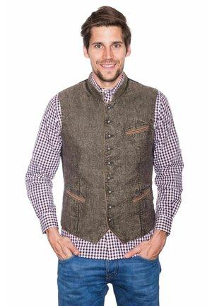 TRACHTEN, PLATZHIRSCH  - Suit waistcoat - olive