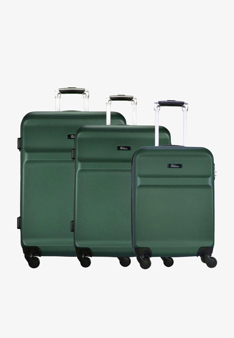 Fabrizio - WINGS - Luggage set - green