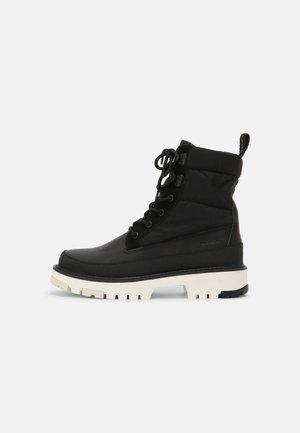 SOLVI  - Lace-up ankle boots - regular black
