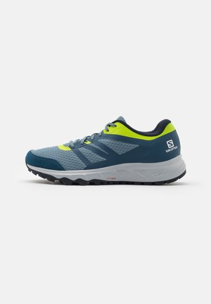 TRAILSTER 2 - Zapatillas de trail running - bluestone/poseidon/acid lime