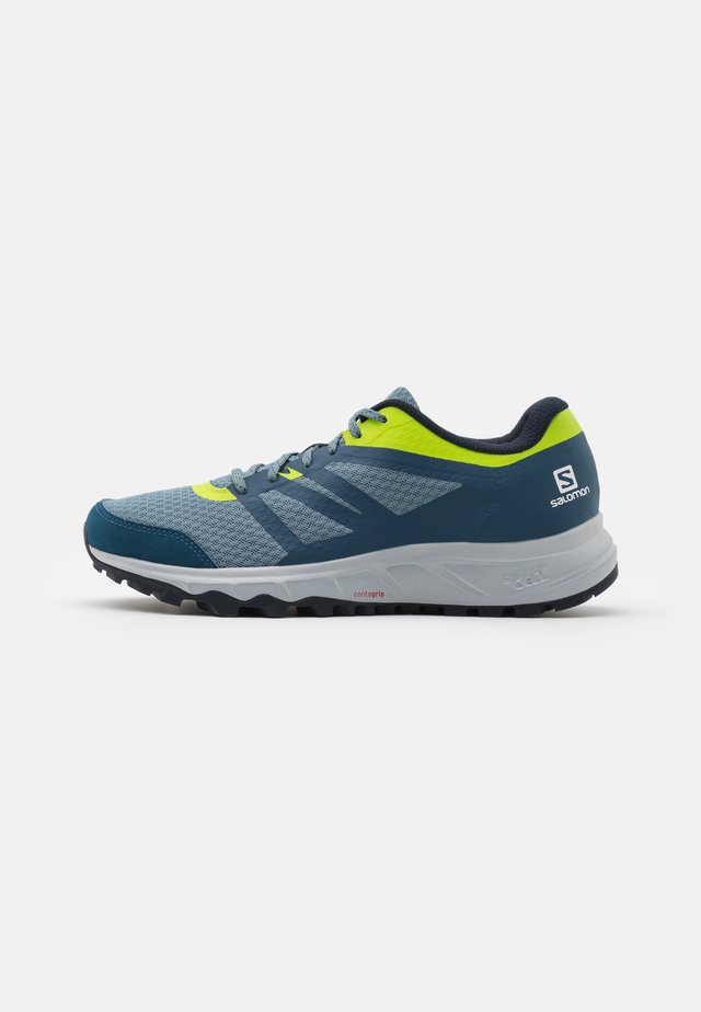 TRAILSTER 2 - Běžecké boty do terénu - bluestone/poseidon/acid lime