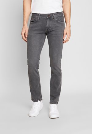 DENTON AMES GREY - Straight leg -farkut - grey