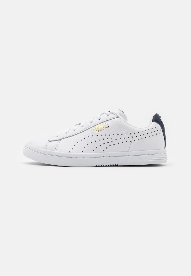 Puma - COURT STAR UNISEX - Joggesko - white/peacoat