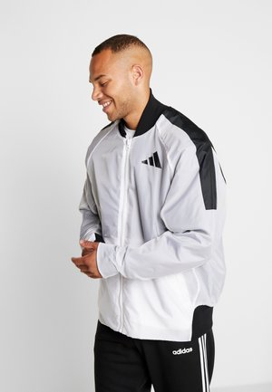 OVERSIZE STREET ATHLETICS JACKET - Giacca sportiva - white