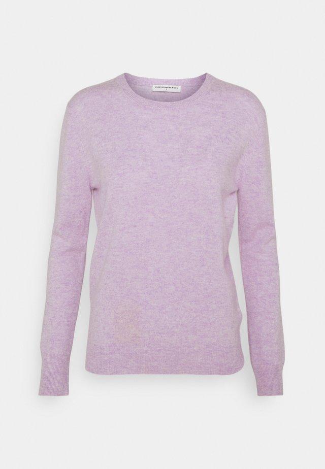 CLASSIC CREW NECK  - Stickad tröja - lavender