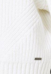 Hollister Co. - EASY CROP CARDI - Kardigan - white - 3
