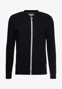 TOM TAILOR DENIM - JACKET - Zip-up hoodie - black - 4