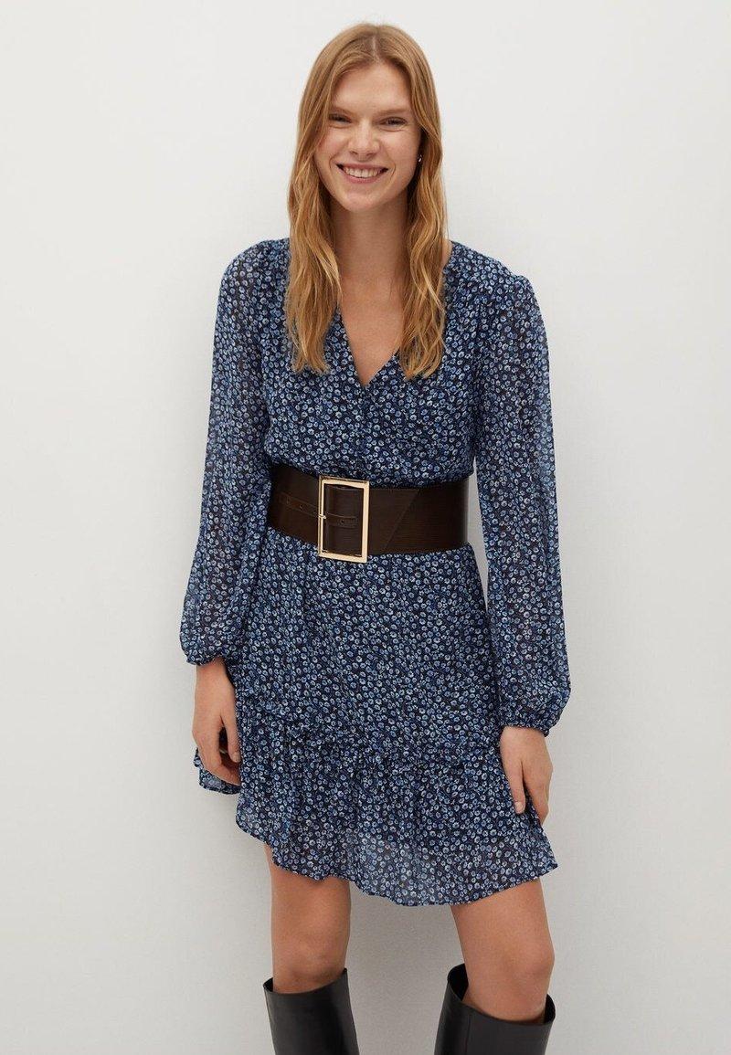 Mango - PASLY - Day dress - blau