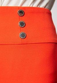 Morgan - Pencil skirt - orange - 3