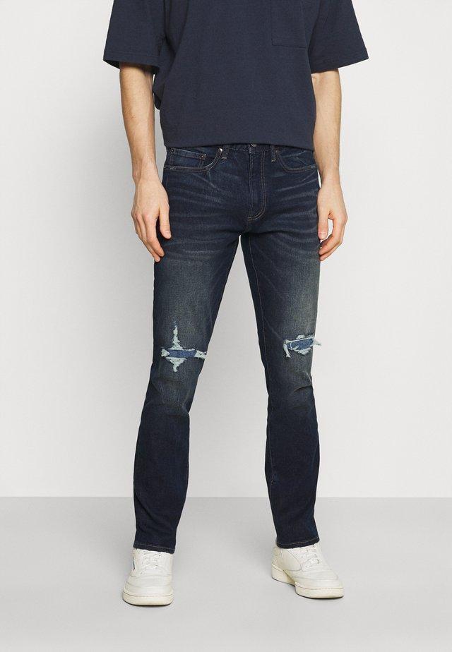 VSKINNY DESTROY EL CAPITAN - Slim fit jeans - dark wash