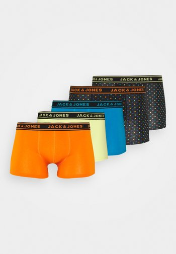 JACCOLORFUL MIX DOTS TRUNKS 5 PACK