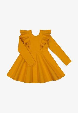 Day dress - yellow betula