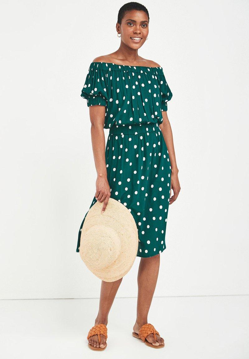 Next - Day dress - green