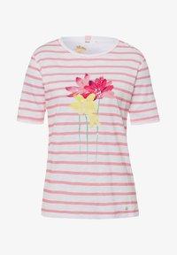 BRAX - STYLE CIRA - Print T-shirt - white - 5