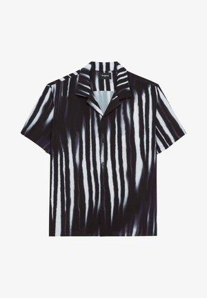 Shirt - black white