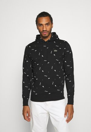 Sweat à capuche - black/multico