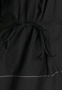 Proenza Schouler White Label - POPLIN FULL SLEEVE BLOUSE - Blouse - black - 7