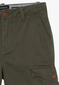 Quiksilver - CRUCIAL BATTLE YOUTH - Pantaloni cargo - thyme - 4