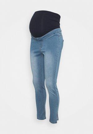 MATERNITY SPLIT VICE - Jeans Skinny Fit - blue