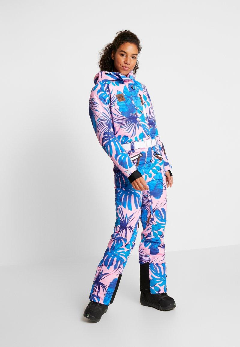 OOSC - MIAMI VICE FEMALE FIT - Spodnie narciarskie - multi-coloured