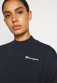 Champion - HIGH NECK LEGACY - Sweatshirt - navy - 4