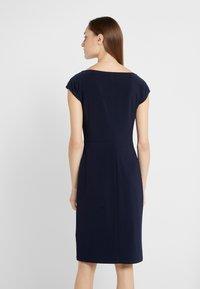 Lauren Ralph Lauren - MID WEIGHT DRESS - Shift dress - lighthouse navy - 2