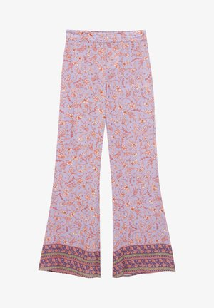 Trousers - lilac