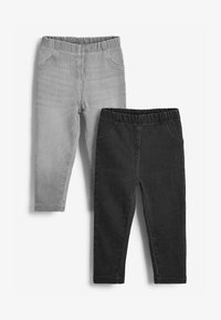 Next - 2 PACK - Jeggings - grey - 0