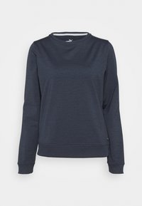Puma Golf - CLOUDSPUN CREWNECK - Sweatshirt - navy blazer heather - 0