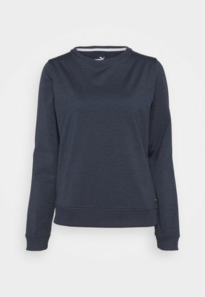CLOUDSPUN CREWNECK - Sweatshirt - navy blazer heather