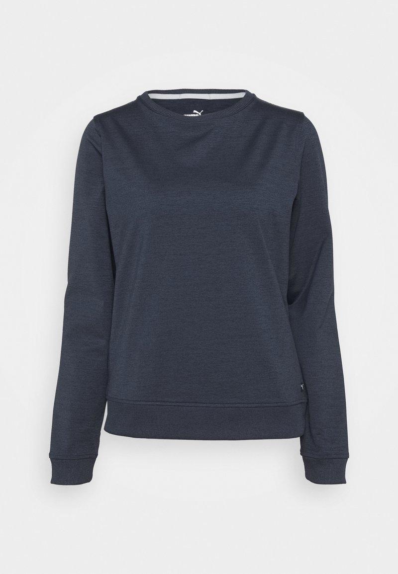 Puma Golf - CLOUDSPUN CREWNECK - Sweatshirt - navy blazer heather