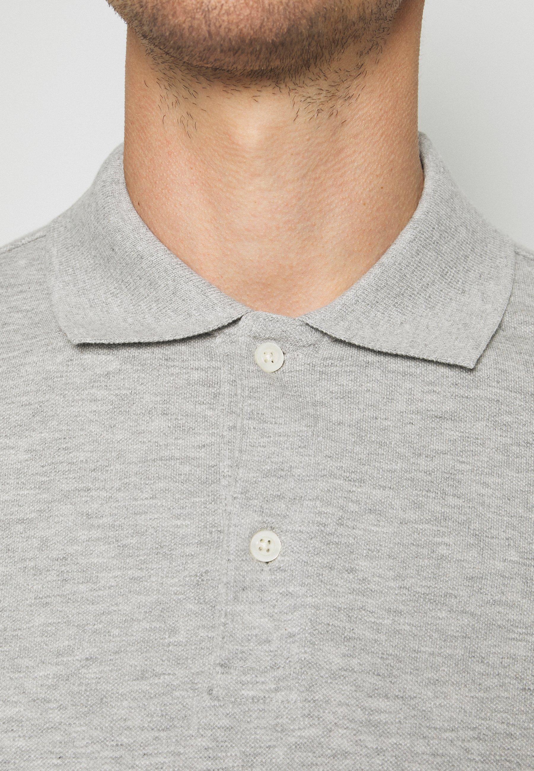 GAP SOLID - Polo shirt - light heather grey 60xcg