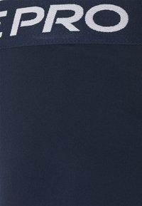 Nike Performance - SHORT HI RISE - Collants - obsidian/white - 5