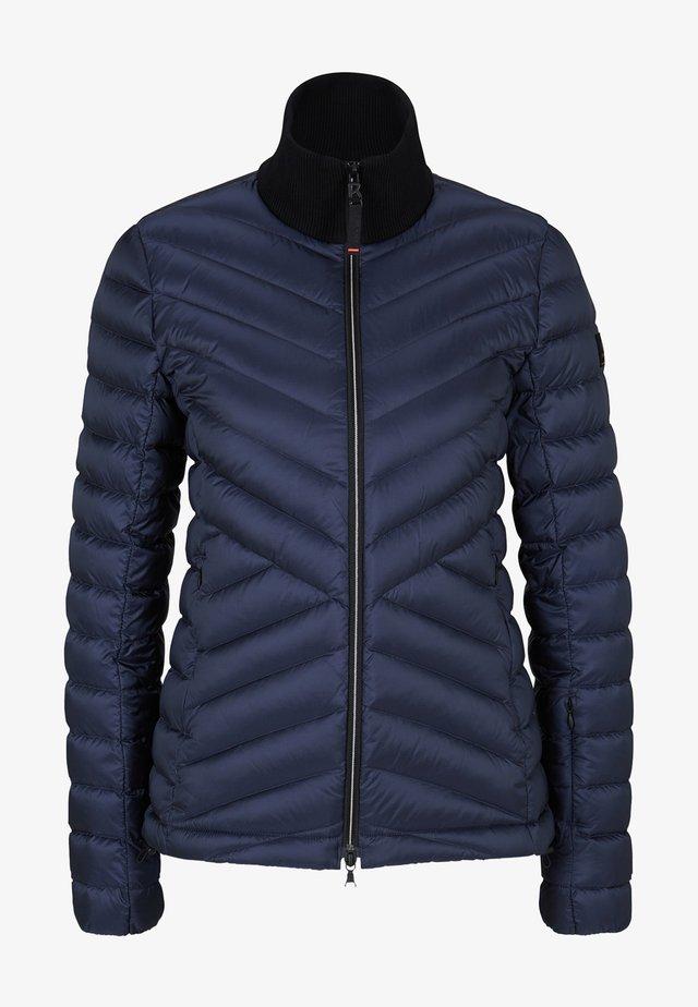 Down jacket - navy-blau
