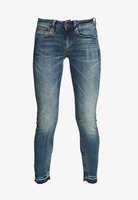 3301 MID SKINNY RP ANKLE WMN - Skinny džíny - faded azurite