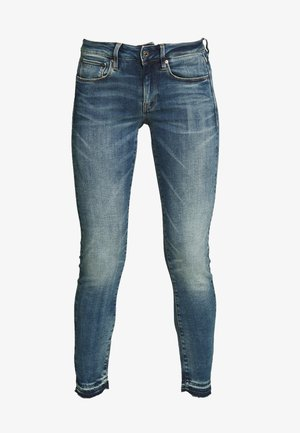3301 MID SKINNY RP ANKLE WMN - Vaqueros pitillo - faded azurite
