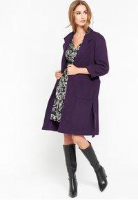 LolaLiza - Trenchcoat - purple - 1