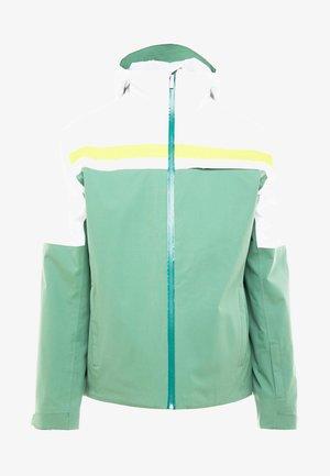 ALPINE JACKET  - Ski jacket - forest green/white