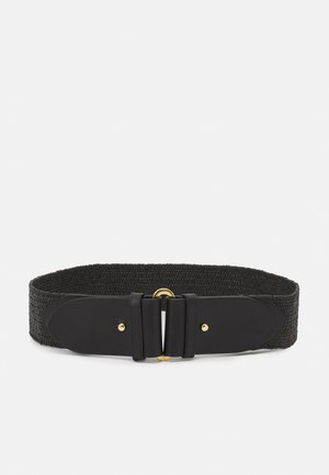 STRETCH STRAW STRETCH - Belt - black
