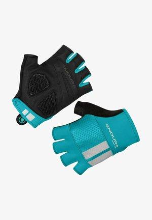 Fingerless gloves - blau