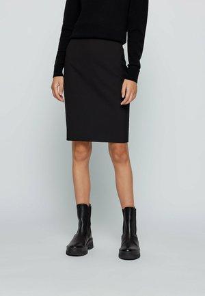 VIKENA - Pencil skirt - black